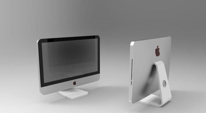 IMAC 21,5 - Virtualizzazione da disegno Inventor