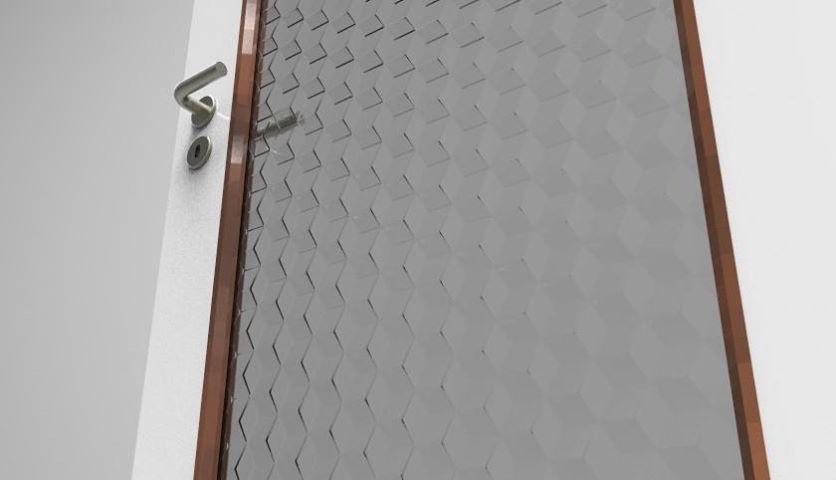 Porta con vetro - Virtualizzazione